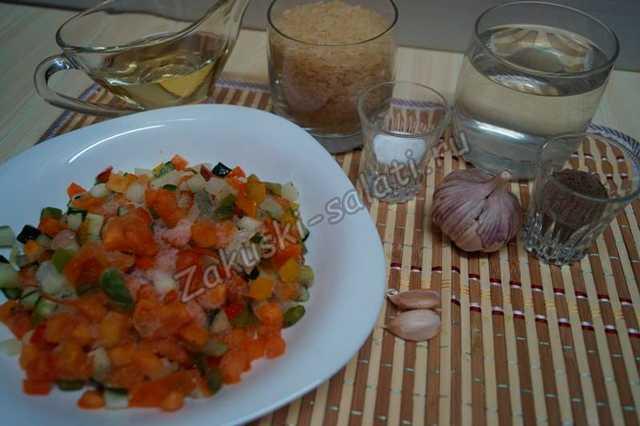 рис и другие продукты