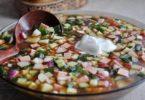 окрошка на квасе рецепт классический с колбасой