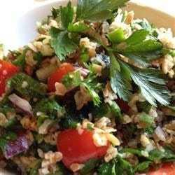 852483 min - Овощной салат с булгуром Кысыр