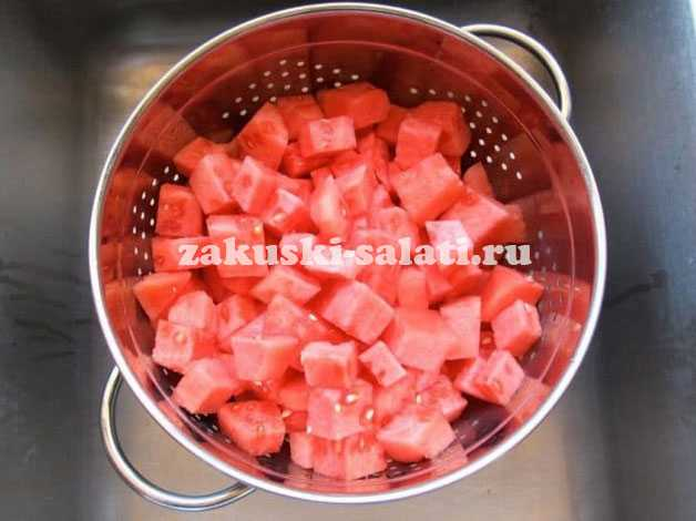 gotovka salata arbuz - Салат арбуз рецепт